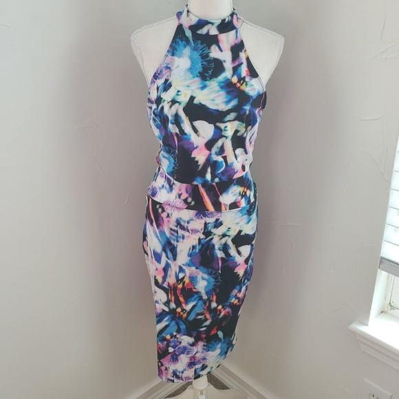 bebe Dresses & Skirts - Bebe Two Piece Tahiti Dress NWT Sz M